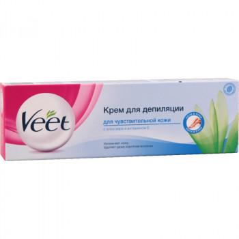 Veet крем для депиляции, для чуствительной кожи, 100мл (02498)