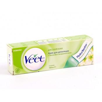Veet крем для депиляции для Cухой кожи, 100мл (02474)