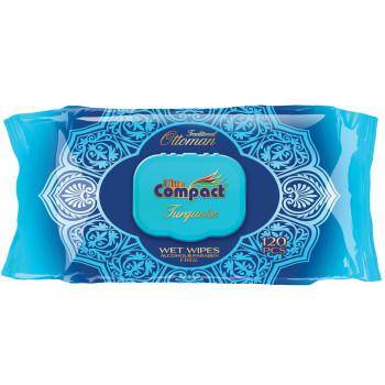 Compact салфетки влажные, Ottoman, 120шт (34400)