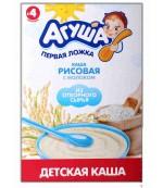 Агуша каша молочная (рисовая) 4 месяцев 200 гр (19630)