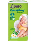 Libero everyday #2 подгузники,  3-6 кг, 50шт (13896)