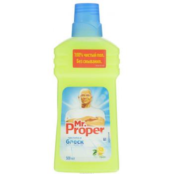 Mr.Proper моющая жидкость для полов и стен, лимон, 500мл (70066)