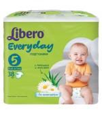 Libero Everyday #5 подгузники, 11- 25кг, 38шт (71301)