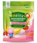 Heinz Любопышки каша, банан, клубника, с 1-3 лет, 200гр  (01824)
