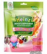 Heinz Любопышки каша, слива, морковь, вишня, черная смородина, с 1-3 лет, 200гр  (01794)