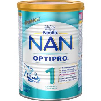 Nestle NAN сухая молочная смесь, #1, с 0-6 месяцев, 400г (15083)