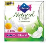 Libresse Natural Ultra гигиенические прокладки, 4 капли, 10шт (23300)