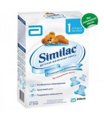 Similac сухая молочная смесь, #1, c 0-6 месяцев, 350гр (07640)