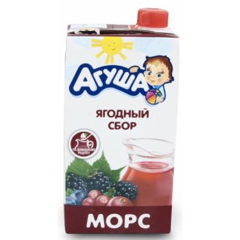 Агуша морс (ягодный сбор) от 3-х лет 0,5л (06228)