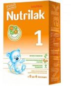 Nutrilak сухая молочная смесь, #1, c 0-6 месяцев, 350гр (12064)