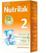 Nutrilak сухая молочная смесь, #2, c 6-12 месяцев, 350г (18080)