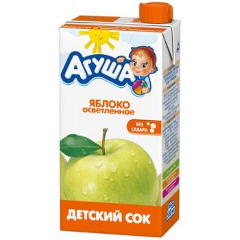 Агуша сок (яблоко осветленное) от 3лет 0,5л (02947)