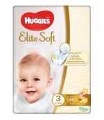 Huggies Elite Soft #3 подгузники, 5-9 кг, 80шт (45295)