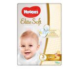 Huggies Elite Soft подгузники #3, 5-9 кг, 80шт (45295)