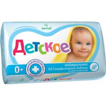 Весна детское туалетное мыло, Нейтральное, 90гр (00082)