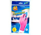 Фрекен Бок перчатки резиновые суперпрочные (L) большой размер (80277)