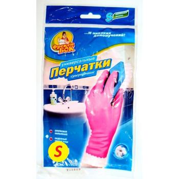 Фрекен Бок перчатки резиновые суперпрочные, S, 1 пара (80314)