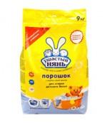 Ушастый нянь детский порошок, 9 кг, Россия (10168)