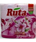Ruta туалетная бумага, с ароматом, 4 рулона, 2 слоя, 150 отрывов в рулоне (40358)