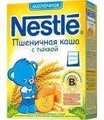 Nestle каша молочная пшеничная (с тыквой) 4 месяцев 220гр (31184)