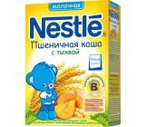 Nestle каша молочная пшеничная, с тыквой, с 4 месяцев, 220гр (00492)