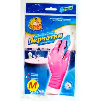 Фрекен Бок перчатки резиновые суперпрочные, M, 1 пара (80307)