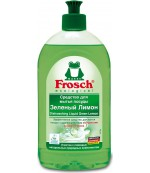 Frosch средство для мытья посуды (зеленый лимон) 500 мл (61833)