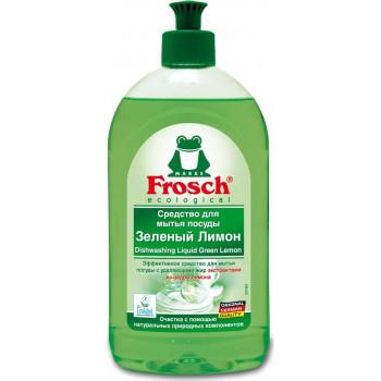 Frosch средство для мытья посуды, зеленый лимон, 500мл (61833)