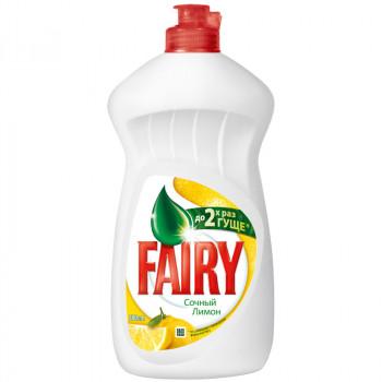 Fairy средство для мытья посуды, Лимон, 500гр (37219)