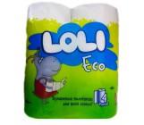 Loli eco полотенце бумажная, 4 рулона, 2 слоя (00160)