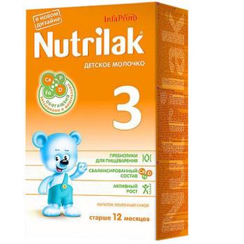 Nutrilak сухая молочная смесь, #3, c 12-18 месяцев, 350гр (20151)