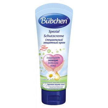 Bubchen специальный защитный крем, с экстрактом Ромашки, Рыбьим жиром и Пантенолом, 75 мл (12353)