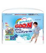 Goon #6 трусики для мальчиков, 13-25 кг, 28шт (51420)