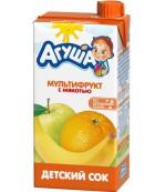 Агуша сок мультифрукт с мякотью, от 3 лет 0,5л (03005)