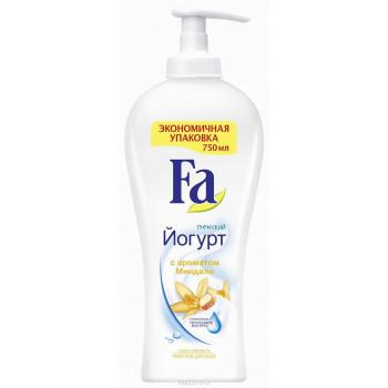 Fa гель для душа, йогурт с ароматом миндаля, 750мл (13955)