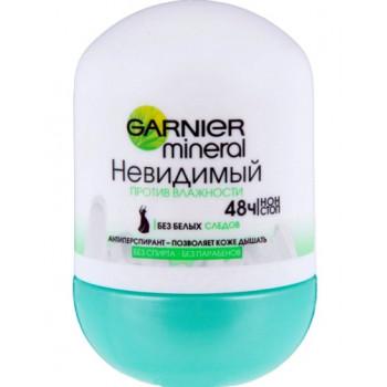 Garnier mineral роликовый антиперспирант, Невидимый, 50мл (48469)
