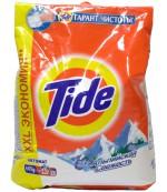 Tide универсальный стиральный порошок автомат Альпийская свежесть, 6кг (37997)