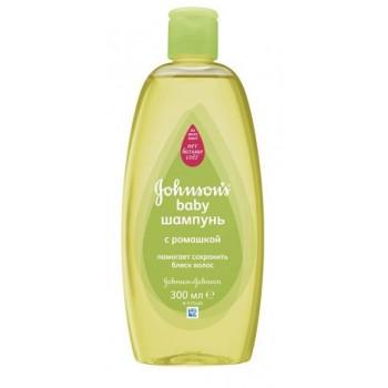 Johnsons baby детский шампунь, с Ромашкой, 300мл (78772)