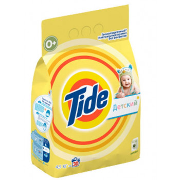 Tide детский стиральный порошок, 4,5 кг (00390)