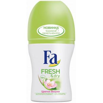 Fa Fresh & dry антиперспирант, Цветок вишни, 50мл (08197)