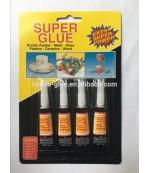 Super GLUE супер клей набор 4шт (85239)