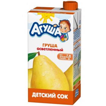 Агуша сок Груша осветленное, 3 лет 0,5 л (25105)