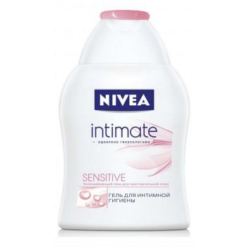 Nivea Intimate гель для интимной гигиены,  Sensitive, 250мл (61490)