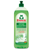 Frosch средство для мытья посуды, зеленый лимон, 1000мл (48094)