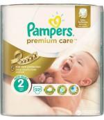 Pampers Premium Care #2 подгузники, 3-6кг, 22шт (87733)