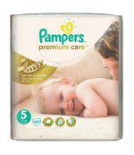 Pampers Premium Care #5 подгузники, 11-18кг, 44шт (78870)