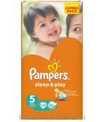 Pampers Sleep & Play #5 подгузники, 11-18кг, 58шт (03582)