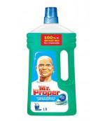 Mr.Proper моющая жидкость для полов и стен, Горный ручей и прохлада, 1Л  (44991)