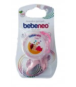Bebeneo цепочка для пустышки, Розовая, 1шт 1004 (89290)