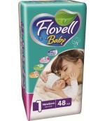 Flovell Baby Newborn #1 подгузники, до 5кг, 48шт (22030)